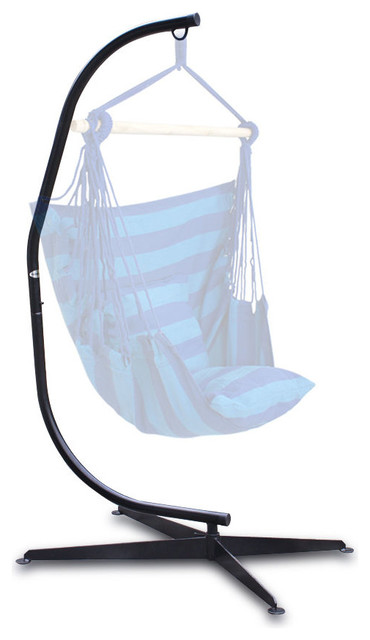 Hammock C Frame Stand For Hanging Air Porch Swing Chair