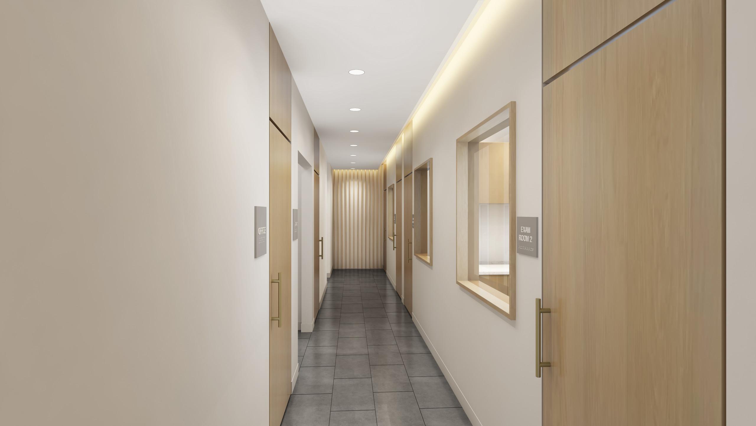 Modern Interior - Dental Clinic in Santa Clara