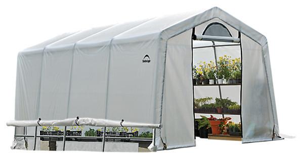Growit Greenhouse-In-A-Box Easy Flow Greenhouse Peak, Style 10&x27;x20&x27;x8&x27;.