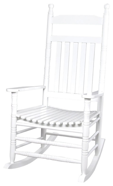 Admirable Gift Mark Home Kids Children Deluxe Adult Extra Tall Back Rocking Chair White Gmtry Best Dining Table And Chair Ideas Images Gmtryco
