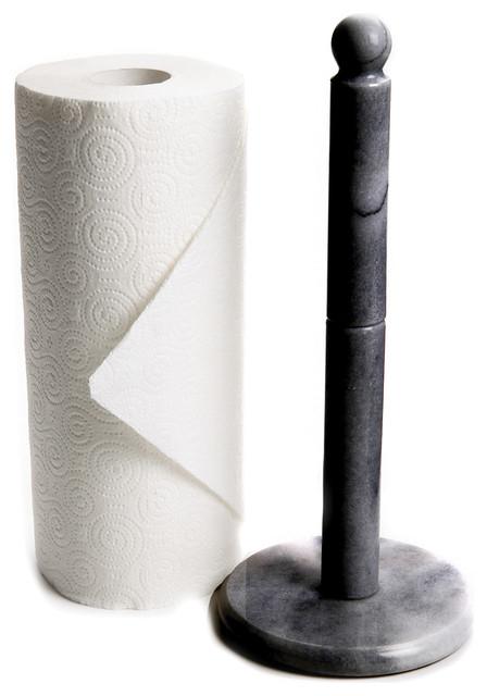 paper towel holder. Black Marble Paper Towel Holder contemporary paper towel holders  Contemporary