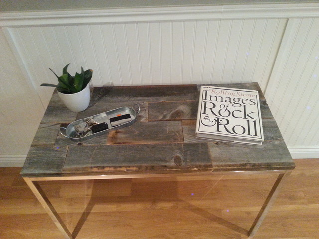 Foyer Bench Toronto : Barn wood chrome hallway entry way unit rustic
