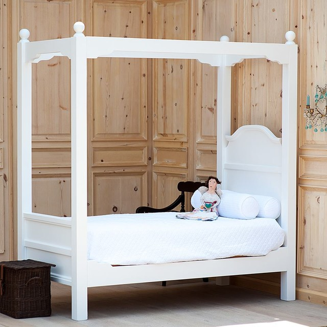 Grande Marsailles Kids Canopy Bed - Traditional - Canopy Beds - Charlotte - by Coach Barn & Grande Marsailles Kids Canopy Bed - Traditional - Canopy Beds ...