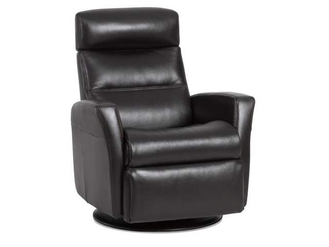 Astonishing Img Divani Small Relaxer Manual Recliner Savauge Charcoal Leather Bralicious Painted Fabric Chair Ideas Braliciousco