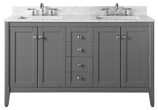 Shelton Bath Vanity Set, Sapphire Gray, 60.
