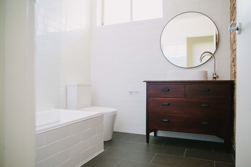 Before And After Apartment Bathroom Renovation Melbourne - Apartment bathroom renovation