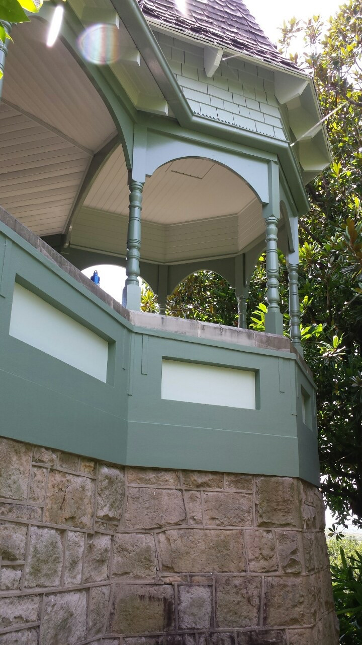 Grand Federation Mosman home - exterior/interior painting