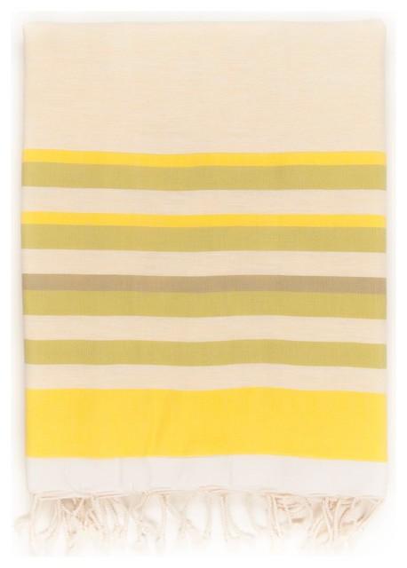 Spirit Peshtemal Towel, Lemon.