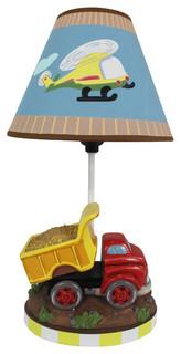 Transportation Kids Table Lamp