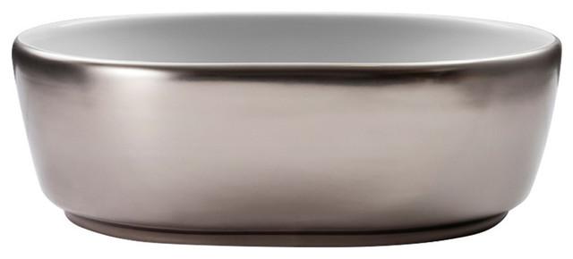 Pearl Platinum 35x45 cm Basin