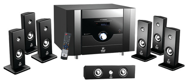 Pyle 7.1-channel Home Theater System With Bluetooth by Pyle