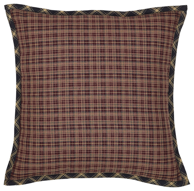 Decorative Pillows With Fringe Part - 49: Beckham Fabric Filled Pillow, 16x16 Decorative-pillows