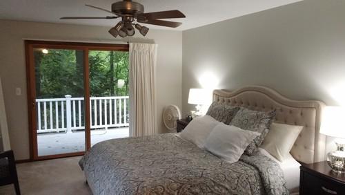 need help with lighting in master bedroom