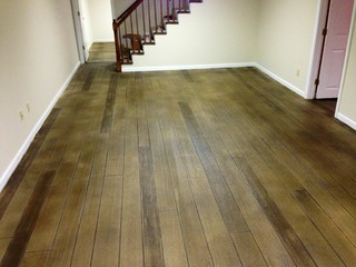Concrete Wood Flooring   Modern   St Louis   By Gateway Elite Crete