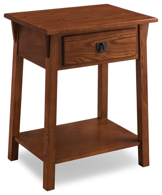 Mission Night Stand With Drawer.