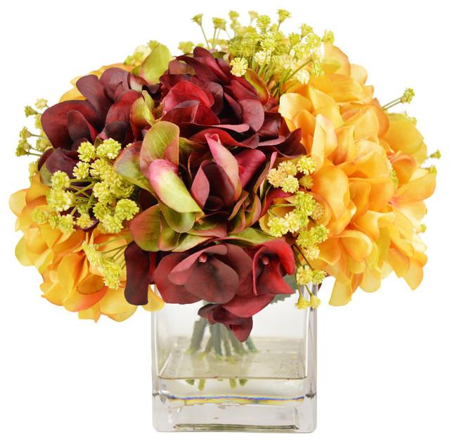 Assorted Hydrangea Bouquet