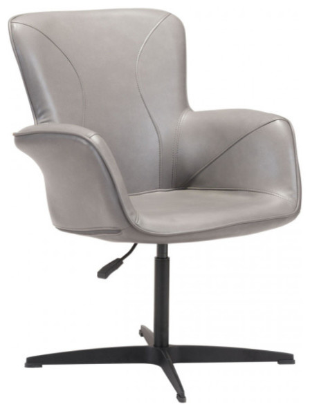 Miraculous Alain Arm Chair Gray Pabps2019 Chair Design Images Pabps2019Com