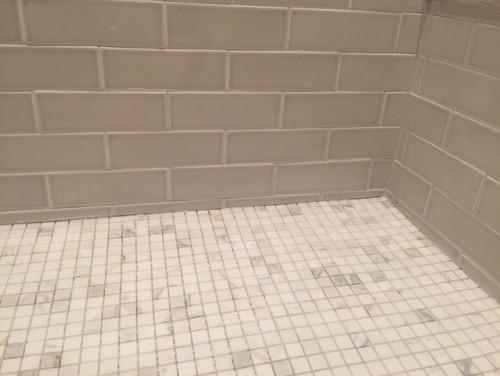 Bathroom Tile Jobs : Bad tile job