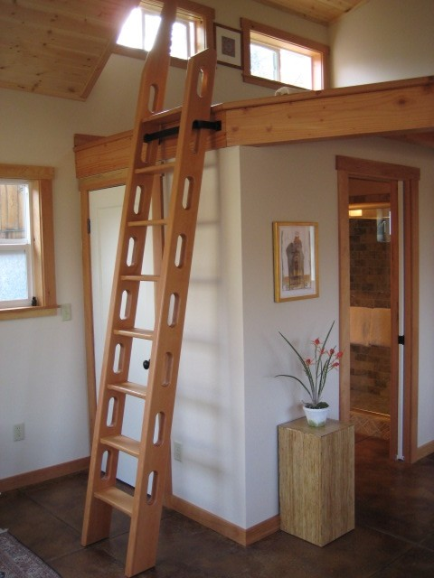 Want To Or Build A Loft Ladder Like This Michigan Sportsman Online Hunting And Fishing Resource