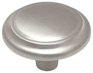 25 Pack Cosmas 4623FB Flat Black Cabinet Hardware Round Knob 1-1//8 Diameter