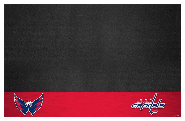 """Nhl Washington Capitals Grill Mat 26""""x42""""."""