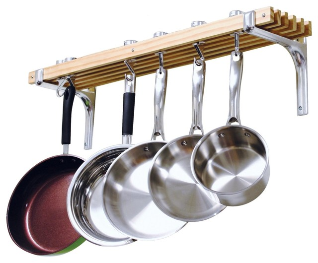 Cooks Standard Wall Mount Pot Rack, 36 By 8.
