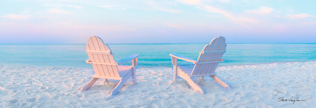 Adirondack Chairs On Beach Beach Style Orlando By