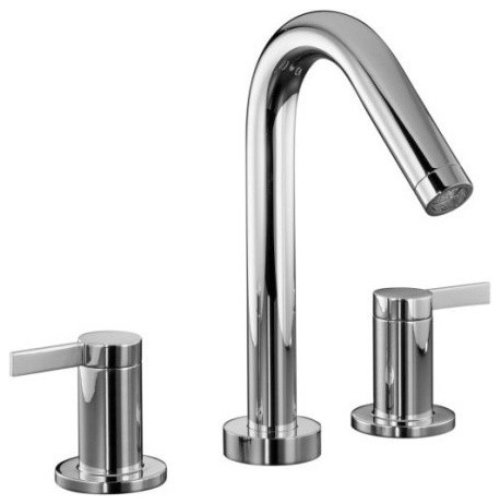 kohler roman tub faucet with hand shower. Kohler K T954 4 CP Stillness Series 2 Handle Roman Tub Faucet contemporary