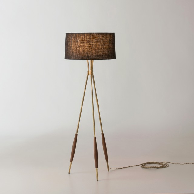 Wall Sconces Under Usd 25 : Mulberry Tripod Floor Lamp - Modern - Floor Lamps - by Schoolhouse Electric