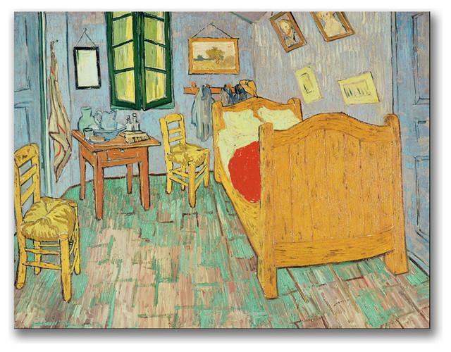 shop houzz 39 van gogh 39 s bedroom at arles 39 canvas art by vincent