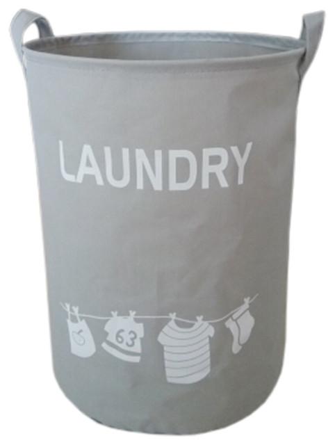 Stylish Hamper Laundry Storage Basket, No.27.
