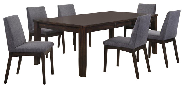 Pyke 7-Piece Dining Set-Table And 6 Side Chairs.