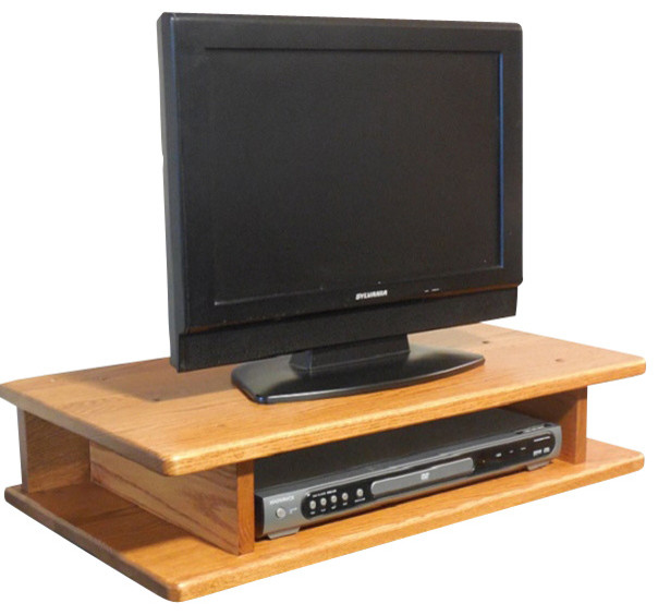 Flat Screen Solid Oak TV Riser - Traditional - Entertainment Centers And Tv Stands - by The Oak ...