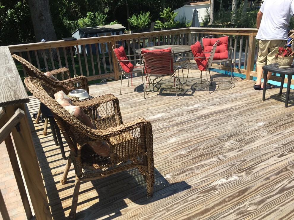 Poolside Deck Renovation