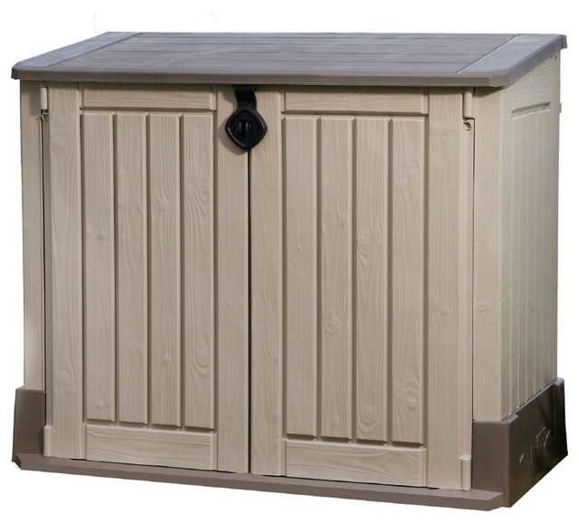 Outdoor Lawn Garden Storage Shed, 30 Cubic Feet.