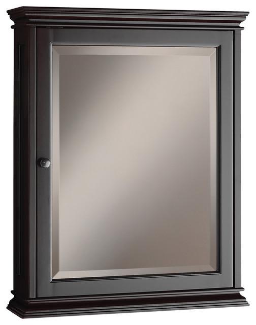 Olivia Espresso Mirrored Medicine Cabinet