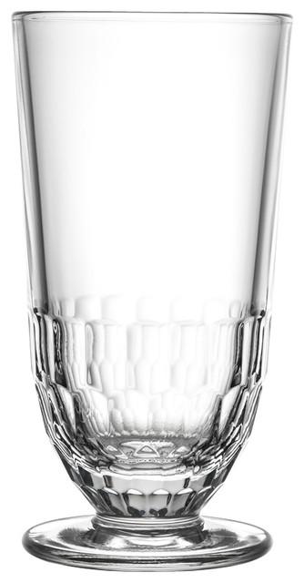La Rochere Bee 12 Oz Ice Tea Glass Set Of 6 Drinkware Home Kitchen Beverage NEW