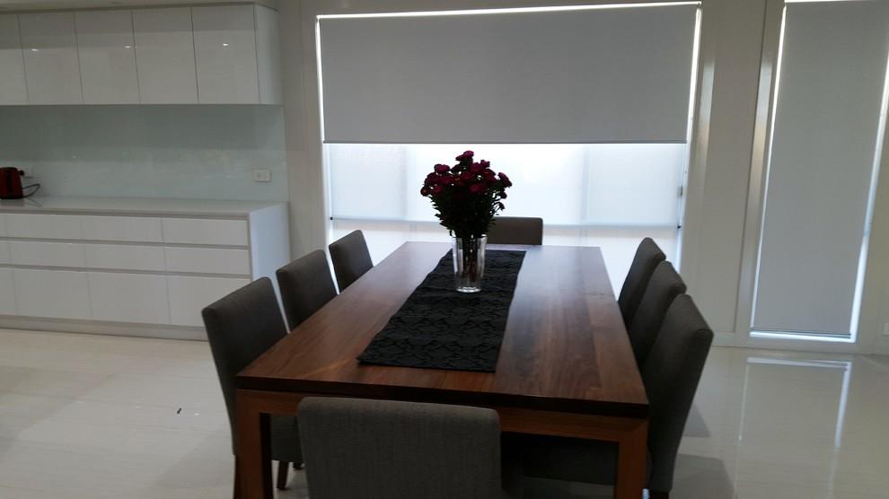 Contemporary family residence