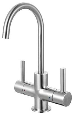 Franke Lb13250 0.5 Gpm Hot And Filtered Cold Water Dispenser, Stainless Steel.