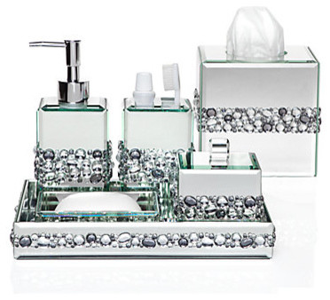 Bathroom Vanity Accessories ricci vanity collection - modern - bathroom accessories -z