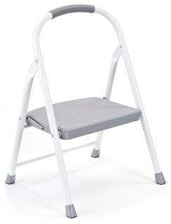 Rubbermaid 1-Step Steel Step Stool - Ladders And Step Stools - by ...
