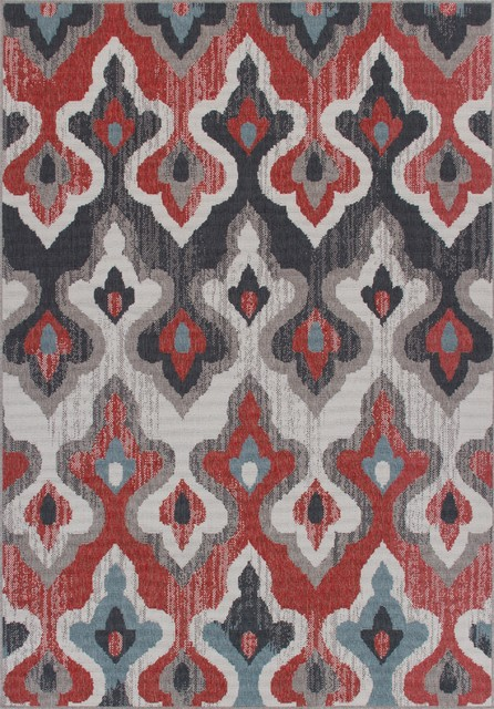 Rug And Decor, Stanford Indoor/outdoor Weather-Proof Abstract, Rug, 2&x27;x3&x27;.