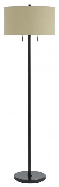 60w Calais Metal Floor Lamp.
