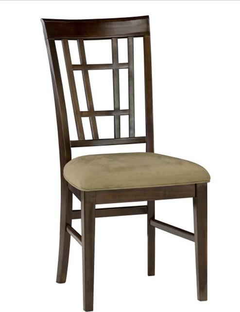 Montego Bay Side Chair In Antique Walnut