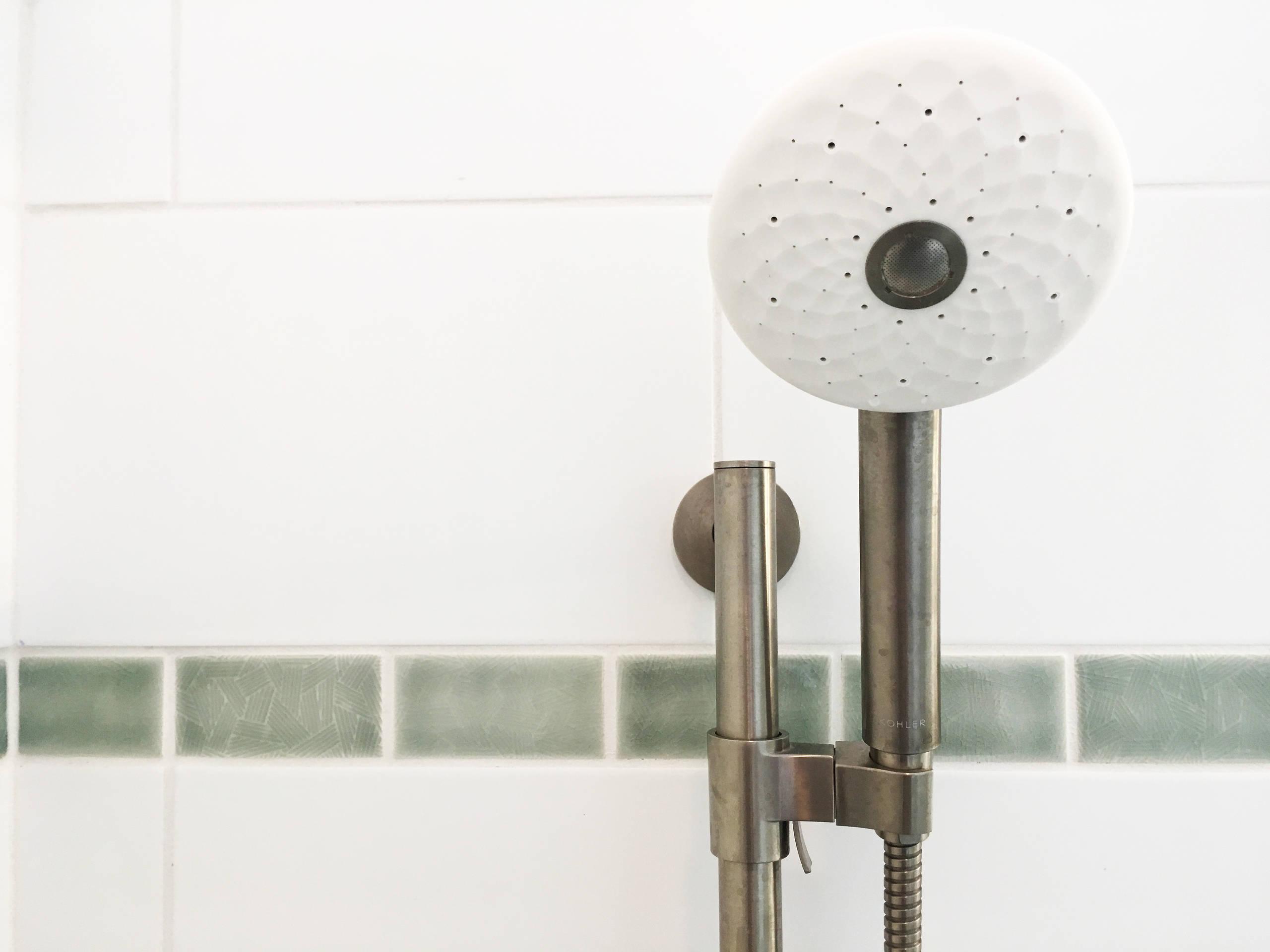 American Four Square Remodel, Shorewood, WI. Master Bathroom.