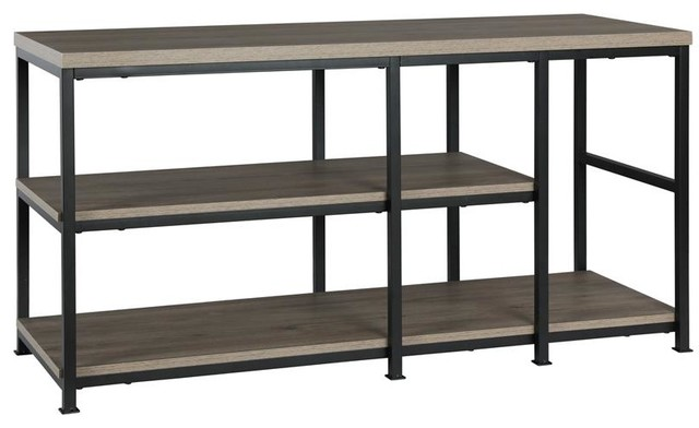 A Design Studio Tristan Tv Stand For Tvs Up To 55 Inches In Rustic
