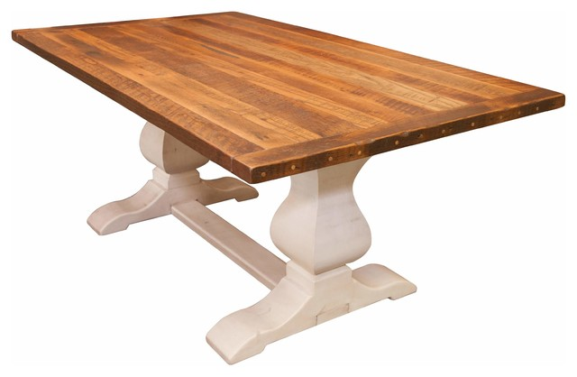 Avon Dining Table Reclaimed Wooden Top