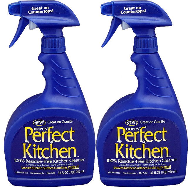 Hope S Perfect Kitchen Cleaning Spray 32 Oz Pack Of 2 Household Products By Hardtogeems