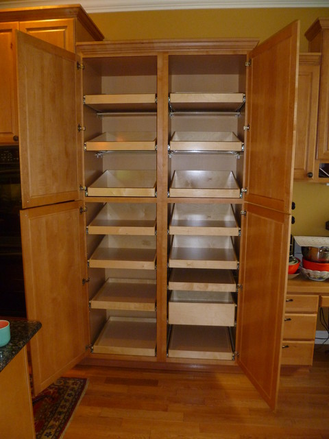 Cabinet pantries seattle by shelfgenie of seattle - Kitchen pantry cabinet design plans ...