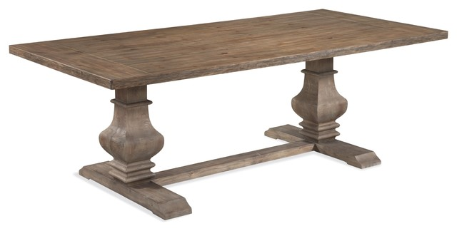 bunyan dining table traditional dining tables by